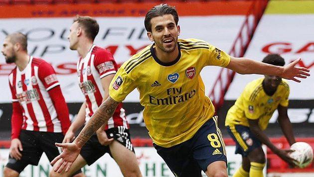 Dani Ceballos rozhodl o postupu Arsenalu.