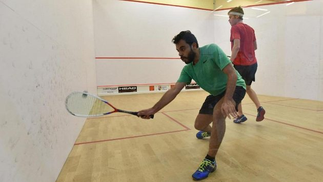 Egypťan Shehab Essam ovládl squashový turnaj Prague Open. Je velkým fanouškem FC Liverpool.