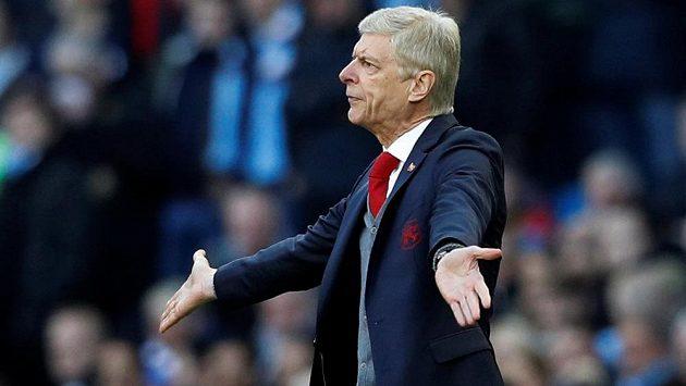Manažer Arsenalu Arséne Wenger