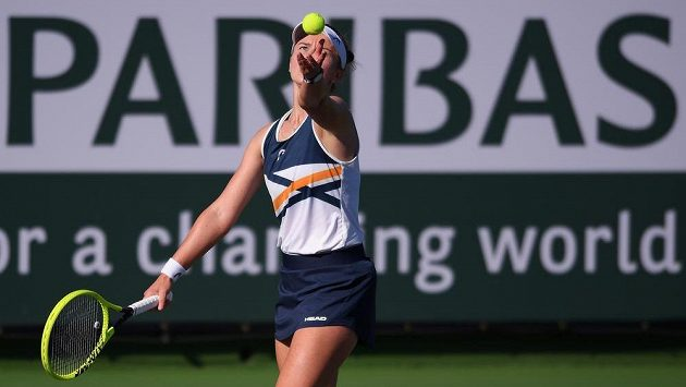 Barbora Krejčíková v Indian Wells končí.