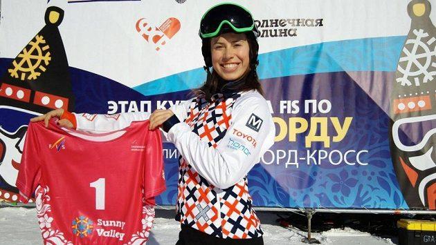 Eva Samková jako číslo jedna. V Sunny Valley ovládla kvalifikaci i závod.