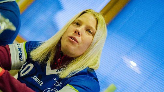 Švédská florbalistka Madeleine Elliläová bude hrát ve Vítkovicích nejméně do konce sezóny.