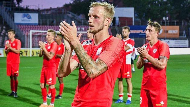 Brněnský fotbalista Lukáš Kryštůfek se uzdravil a mohl se zapojit do přípravy.