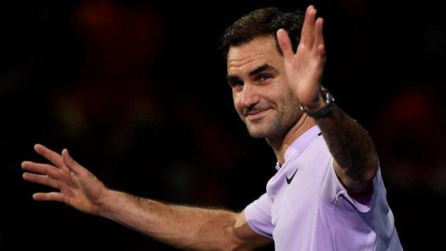 Švýcarský tenisový fenomén Roger Federer