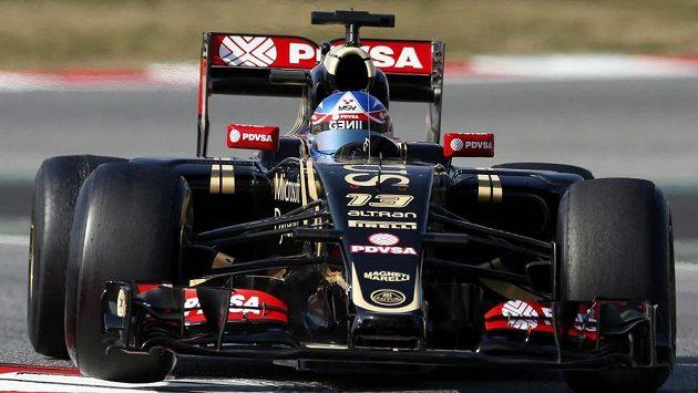 Stáji Lotus se testy v Barceloně vydařily, třikrát byla nejrychlejší.