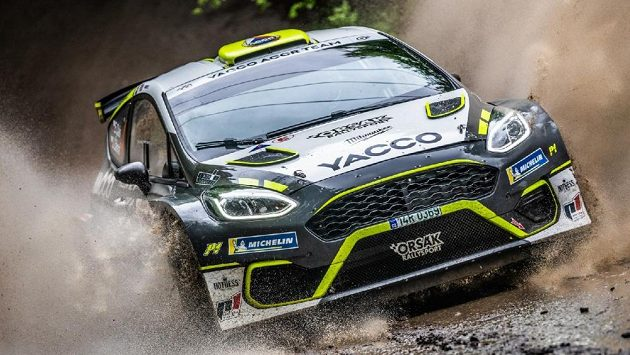 Talentovaný pilot rallye Erik Cais zvítězil na Rallysprintu Kopná.