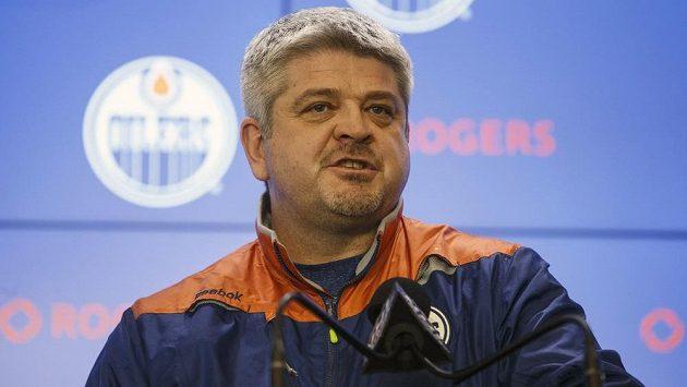 Hlavní kouč Todd McLellan u hokejistů Edmontonu skončil.