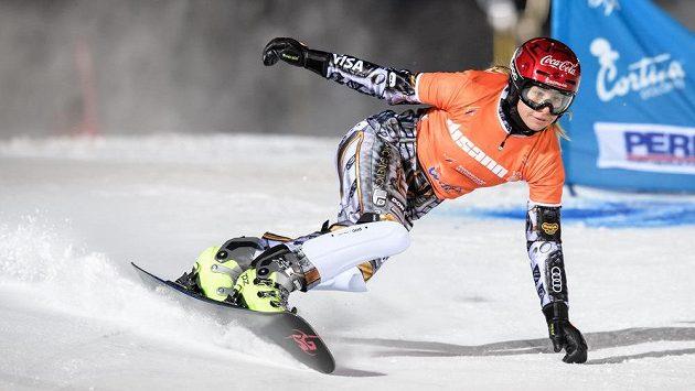 Snowboardistka Ester Ledecká paralelní slalom v Bad Gasteinu vynechala.