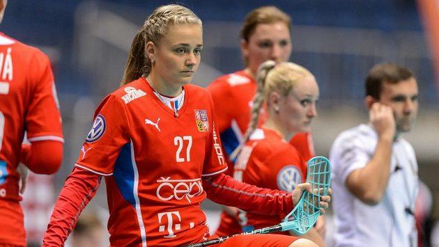 Autorka hattricku do polské sítě Nela Kapcová.