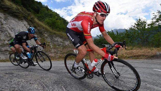Australský cyklista Adam Hansen.