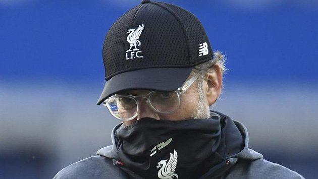 Manažer fotbalového Liverpoolu Jürgen Klopp po derby s Evertonem.