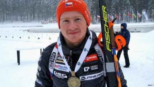 První medaili pro české barvy vybojoval na juniorském ME v biatlonu Vítězslav Hornig.