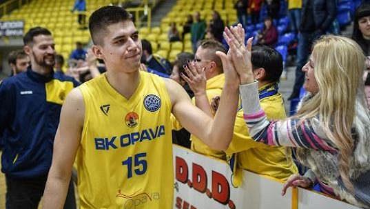 Exopavský basketbalista Václav Bujnoch