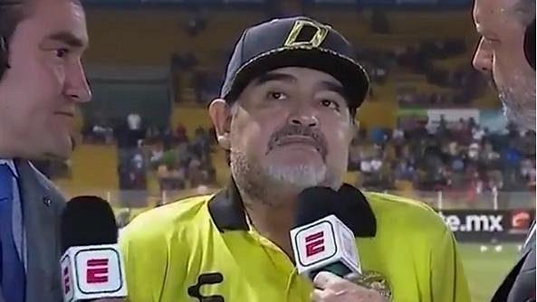 Diego Maradona se dopálil...