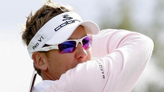 Anglický golfista Ian Poulter