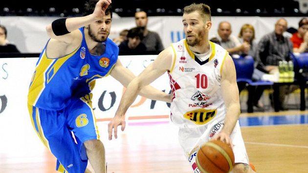 Michal Čarnecký (vpravo) chce s Ústím hrát play off.