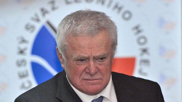 Bývalý hokejový reprezentant František Ševčík (na snímku z 18. prosince 2014).