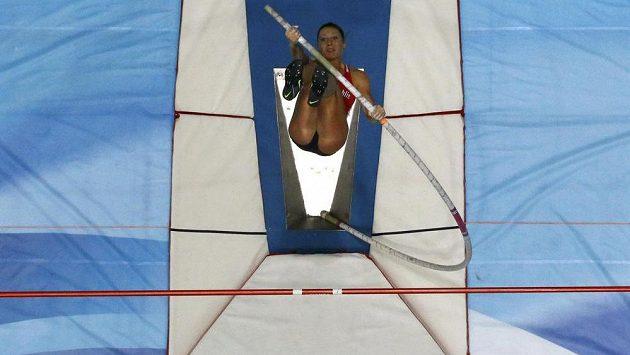 Tyčkařka Jiřina Svobodová vybojovala na halovém mistrovství světa v atletice stříbro.