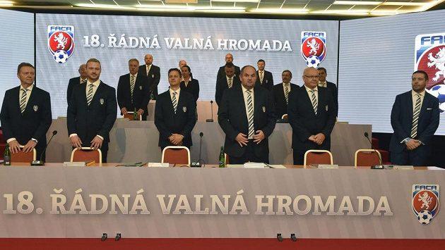 Valná hromada Fotbalové asociace ČR (FAČR) v Brně.