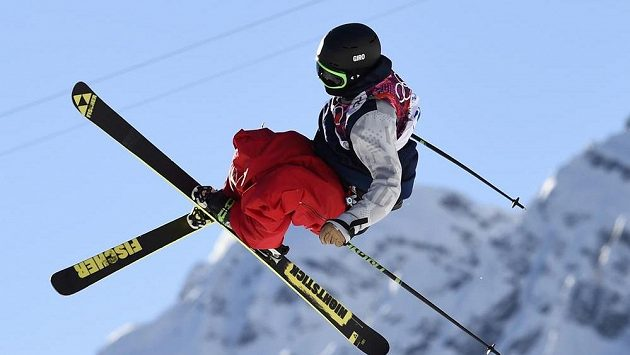 Americký akrobatický lyžař Joss Christensen