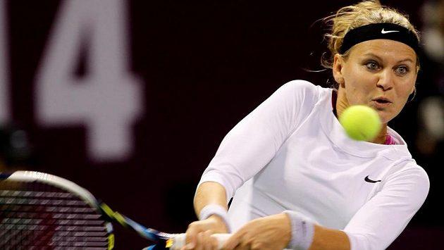 Lucie Šafářová potvrzuje i v Dubaji dobrou formu.