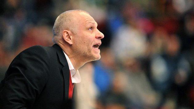 Trenér Mountfieldu Hradec Králové Peter Draisaitl.
