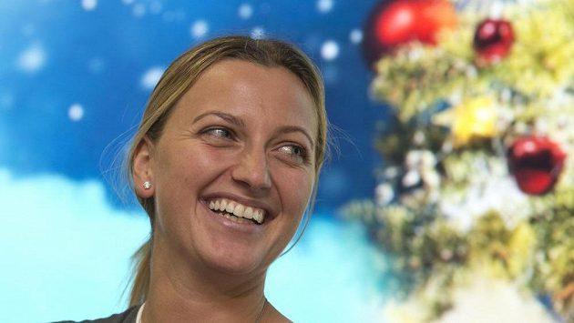 Tenistka Petra Kvitová se vrátila z nemocnice, už se zase směje.