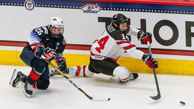 Kanadské a americké hokejistky patří k absolutní světové špičce.