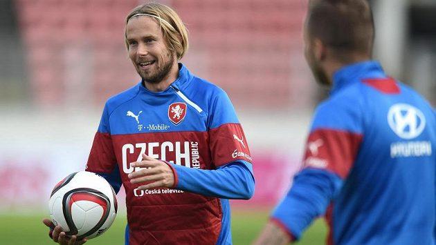 Po roční odmlce se do reprezentace vrátil záložník Jaroslav Plašil.