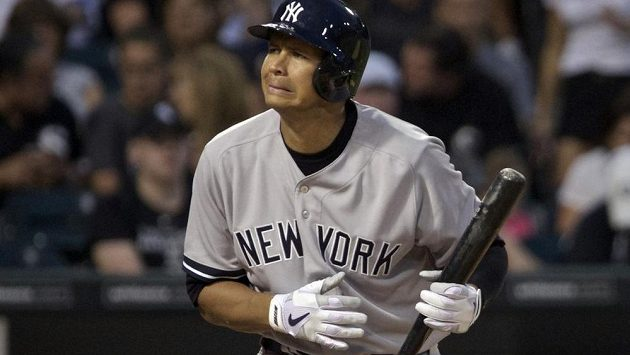 Baseballista Alex Rodriguez.