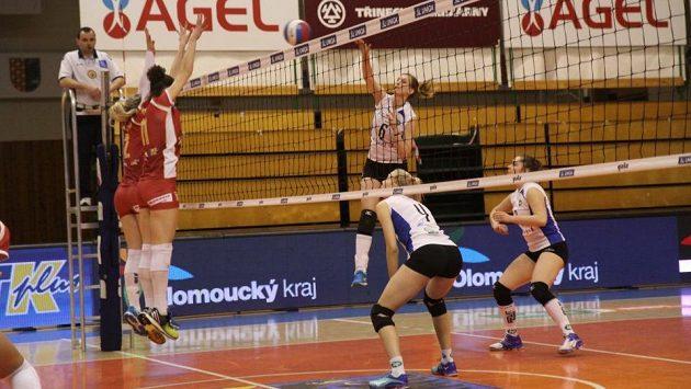 Prostějovské volejbalistky vyzvou ve finále Olomouc.
