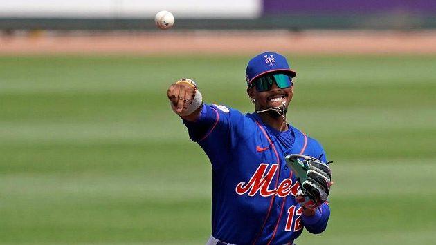Francisco Lindor (12) z New York Mets.