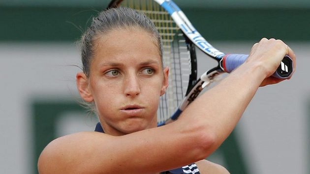 Karolína Plíšková ve druhém kole French Open.