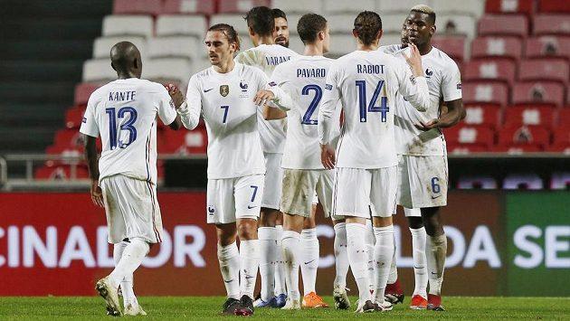 Fotbalisté Francie si výhrou 1:0 v Portugalsku zajistili postup do semifinále Ligy národů.