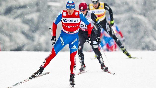 Ruský běžec na lyžích Alexandr Legkov.