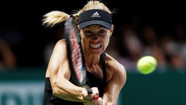 Úsilí Angelique Kerberové v utkání