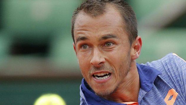 Lukáš Rosol na letošním French Open.