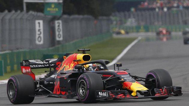 Daniel Ricciardo z Red Bullu během GP Mexika.