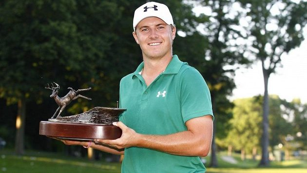 Jordan Spieth se stal nejmladším vítězem na okruhu PGA od roku 1931.