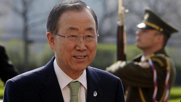 Bývalý generální tajemník OSN Pan Ki-mun je novým předsedou etické komise MOV.