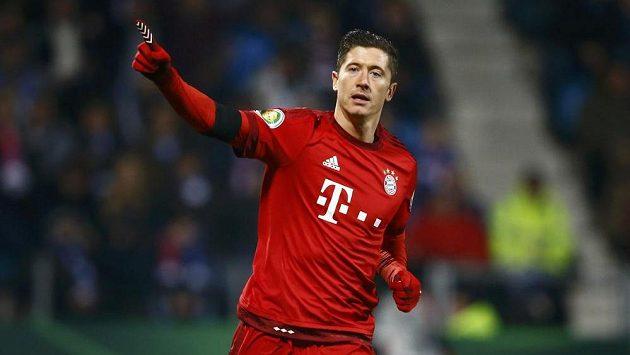 Robert Lewandowski z Bayernu Mnichov se opět zapsal mezi střelce.