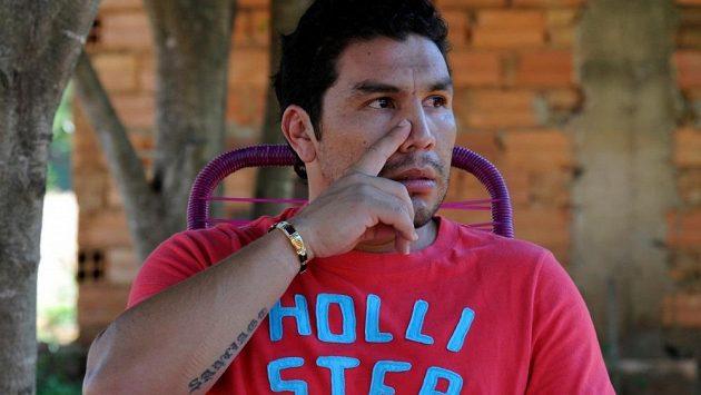Bývalý paraguayský fotbalový reprezentant Salvador Cabaňas.