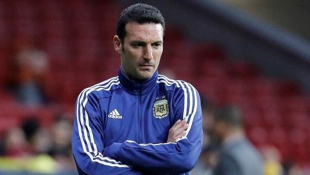 Trenér argentinské fotbalové reprezentace Lionel Scaloni