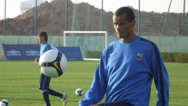 Slavný Brazilec Rivaldo.