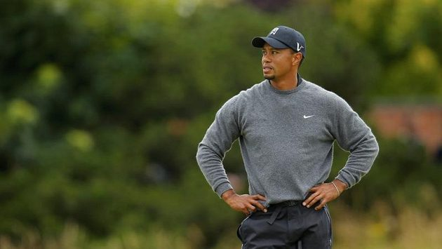 Tiger Woods na British Open