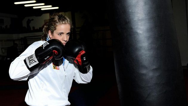 Boxerka Martina Schmoranzová.