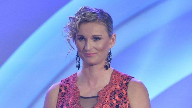 Vítězka ankety Atletkou roku 2016 Barbora Špotáková.