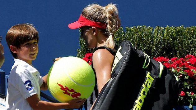 Kanaďanka Eugenie Bouchardová opouští US Open už po prvním kole.