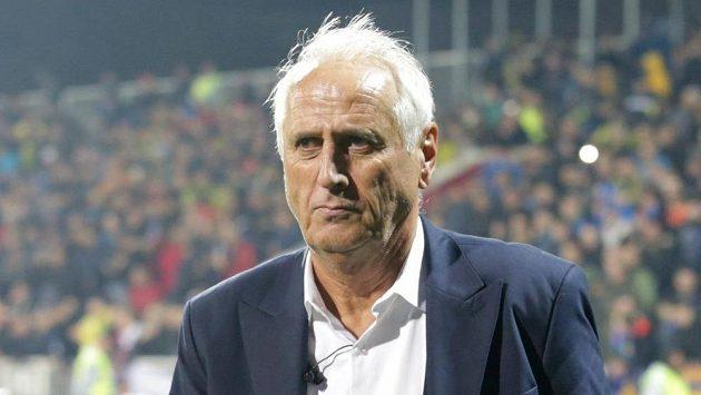 Trenér Kosova Bernard Challandes po utkání s Ázerbájdžánem.