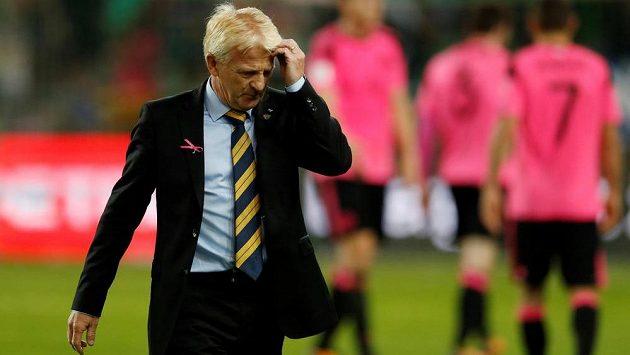 Skotský manažer Gordon Strachan přišel se zajímavým vysvětlením, proč jeho tým neuspěl v kvalifikaci o MS 2018.